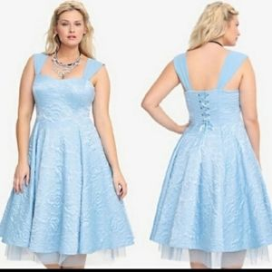 Torrid Cinderella tea dress